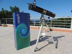 X Telescopio Riflettore Antares Supersaturno 114/900 Montatura Equatoriale Alluminio Motorizzabile In Entrambi Gli Assi - Photography