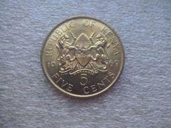 Kenya  5 Cents   1969   (with Legend) - Kenya