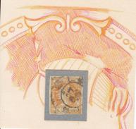 Año 1860 Edifil 52 4c Isabel II  Estudio De Defectos De Plancha Y De Impresion - 1850-68 Royaume: Isabelle II