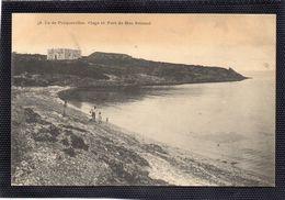 Porquerolles - Plage Et Fort De Bon Renaud - Porquerolles