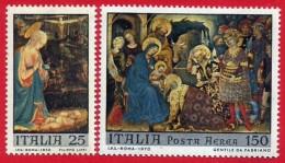 Italia. Italy. 1970 (**) Mi 1328 / 29. Navidad. Christmas. Weihnachten. Natale. Nöel - 1961-70:  Nuovi