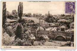 CPA- SAINT-AMAND-TALLENDE (63) - Aspect Du Paysage Près Du Pont Sur La Monne En 1940 - Autres Communes