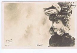 Dallet, Artiste 1900, Reutlinger, S.i.p 134/8 - Theatre
