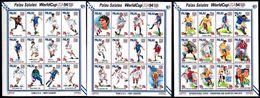 Soccer Football Palau 3 KB 804/39 World Cup USA 1994 MNH ** - World Cup