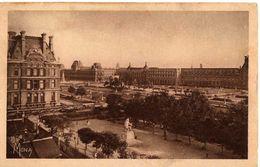 PARIS - PERSPECTIVE SUR LE LOUVRE ET LES JARDINS DES TUILERIES - Arrondissement: 01