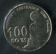 404-UZBEKISTAN-Usbekistan-2200th Anniver. Of Tashkent Independence And Goodness Monumen Commemorative COIN 100 So'm 2009 - Uzbekistan