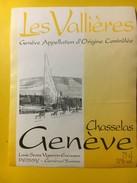 5738 - Les Vallières Chasselas  Genève Suisse Jet D'eau - Etiquettes