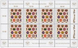 ÖSTERREICH 1990, Kleinbogen, Postfrisch **, Tag Der Briefmarke 1990 - Blocs & Feuillets