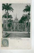 TRINIDAD - PORT OF SPAIN - Holy Trinity Cathedral - Dos Simple- Bon état - Trinidad