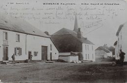 FAUVILLIERS.  TINTANGE. WARNACH.  ENVIRONS DE MARTELANGE. HOTEL GUYOT ET GRAND'RUE. ANIMATION - Fauvillers