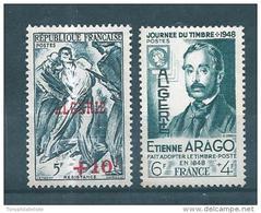 Colonie Timbres D'algérie De 1947/48  N°266/67    Neuf **  Sans Charnières - Algeria (1924-1962)