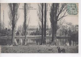 Cpa.94.Vincennes.1906.Bois De Vincennes.Pavillon Des Forêts.animé Chien Noir. - Vincennes