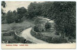 LATHKILL DALE : CONKSBURY BRIDGE - Derbyshire