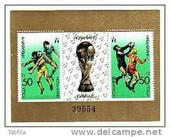 "BULGARIA / BULGARIE - 1982 - ""Espana'82 "" - Bl ** - Blocks & Sheetlets"