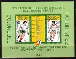 BULGARIA / BULGARIE - 1982 W.Foot.Cup - Espana Mi.No 127 MNH - Blocs-feuillets