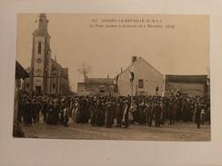 LOIGNY LA BATAILLE - LA FOULE PENDANT LA CÉRÉMONIE DU 2 DÉCEMBRE 1910 - 28 - Loigny