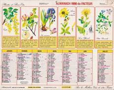 Almanach 1990  Du Facteur  Jean LAVIGNE  LA POSTE OISE 60 - Big : 1981-90