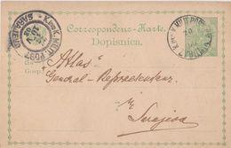 AUSTRIA  ---  GANZSACHE, PS.     --   K. U. K. MILITARPOST BOSNIEN UND HERCEGOVINA  /  ZVORNIK, SARAJEVO /  1903 - 1850-1918 Imperium