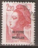 SAINT PIERRE ET MIQUELON   -    1986 .  Y&T N° 464 Oblitéré.   Sabine - St.Pierre & Miquelon