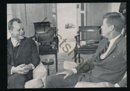Berlin - Präsident Kennedy Und Willy Brandt[ KSACU 045 - Germany