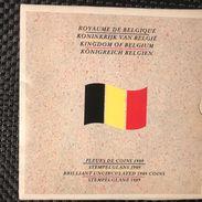 Set 1989 Belgium FDC - 1951-1993: Baudouin I