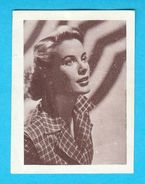 GRACE KELLY - Yugoslav Vintage Collectiable Card Issued 1960's * Princess Of Monaco - Princesse De Monaco RRR - Cinema & TV
