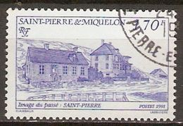 SAINT PIERRE ET MIQUELON   -   1991 .  Y&T N° 537 Oblitéré. - Used Stamps