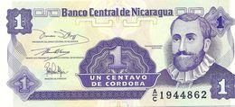 LOTTO DI N. 3 BANCONOTE  Da 1, Da 5  E Da 25  Centavos  - Banco Central De Nicaragua. - Nicaragua