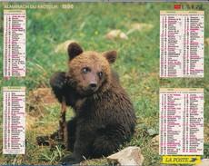 Almanach  Du Facteur 1996   LAVIGNE  LA POSTE OISE 60 - Big : 1991-00