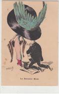 ILUSTRATEUR- Th. Robertz- La Dernière Mode -1910-2scans (quelques Taches Marron)Carte Bonne état - Ilustradores & Fotógrafos