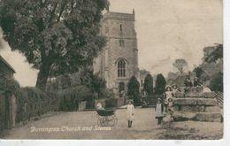 DURRINGTON Near Salisbury - Church And Stones - 1912 - Bon état - Angleterre