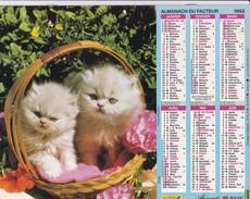 Almanach   Du Facteur LAVIGNE 1992 - Big : 1991-00