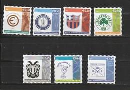 Grece N° 2300 à 2306** Serie Clubs De Sport Et Football Historiques - Greece