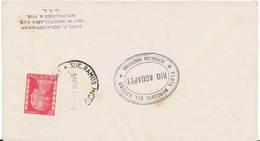 20c Eva Peron 1951 Suc. Ramas Mejir, Argentina To Milwaukee, Wis. With Oval Cachet Flota Mercante Del Estado Rio A... - Lettres & Documents