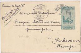 ---  GANZSACHE, PS.   -  SARAJEVO /   K. U. K. MILITARPOST BOSNIEN UND HERCEGOVINA  / 1907 - 1850-1918 Imperium
