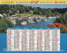Almanach  Du Facteur 1997 LAVIGNE AISNE 02 LA POSTE - Calendriers