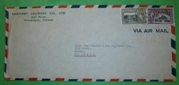 TRINIDAD & TOBAGO - Brief Letter Lettre 信 Lettera Carta письмо Brev 手紙 จดหมาย Cover Envelope (4 Foto)(33742)FFF - Trinidad & Tobago (1962-...)
