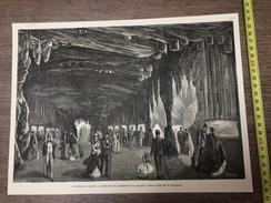 ENV 1868 EXPOSITION MARITIME DU HAVRE L AQUARIUM - Vieux Papiers