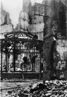 35 - SAINT MALO ( Série Après La Bataille Août 1944 ) LA HALLE AUX POISSONS - CPSM Dentelée Noir Blanc GF Ille Vilaine - Saint Malo