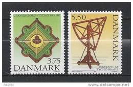 Danemark 1995 N°1113/1114  Neufs ** Astronome Ticho Brahe - Danemark