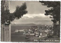 X865 Gaeta (Latina) - Antico Porto Di Santa Maria - Panorama / Viaggiata 1956 - Altre Città
