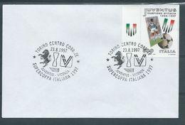 JU041 - Supercoppa It. Juventus - Vicenza - Annullo Spec. - Club Mitici