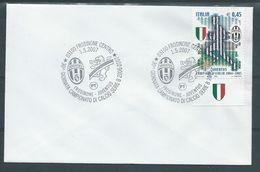 JU044 - Serie B,  Frosinone - Juventus - Annullo Spec. - Club Mitici