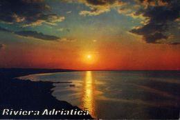 Riviera Adriatica - Tramonto Da Gabicce Mare - 35 - Formato Grande Viaggiata – E 3 - Pesaro
