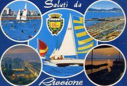 Saluti Da Riccione - 244 - Formato Grande Viaggiata - E 3 - Rimini