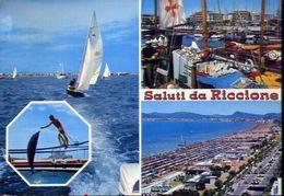 Saluti Da Riccione - 68 - Formato Grande Viaggiata - E 3 - Rimini