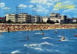 Riccione - Alberghi A Mare - 130 - Formato Grande Viaggiata – E 3 - Rimini