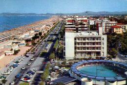 Riccione - Alberghi Lungomare E Spiaggia - 161 - Formato Grande Viaggiata – E 3 - Rimini