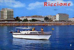 Riccione - Gita In Motoscafo - Formato Grande Viaggiata – E 3 - Rimini