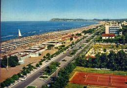 Riccione - Lungomare E Spiaggia - 8519 - Formato Grande Viaggiata – E 3 - Rimini